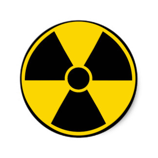 Radiation Signs Stickers | Zazzle