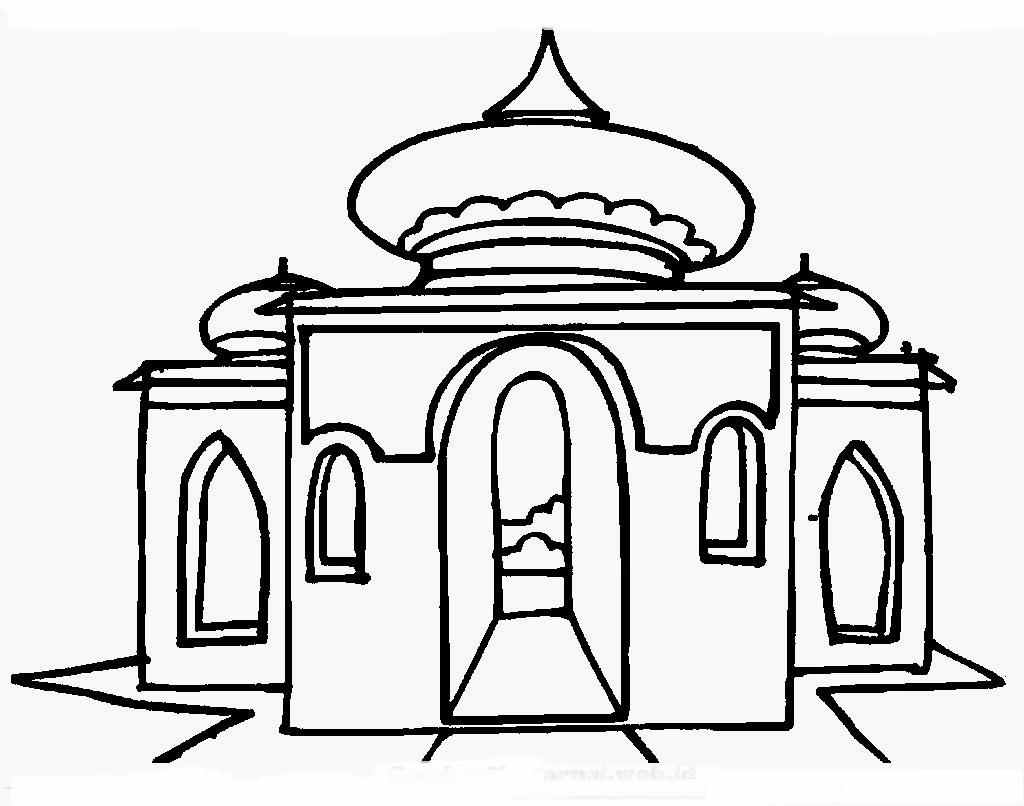Home Gambar Lain Gambar Masjid Hitam Putih | Mewarnai ...