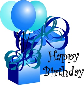 Happy Birthday Present Clipart - Free Clipart Images