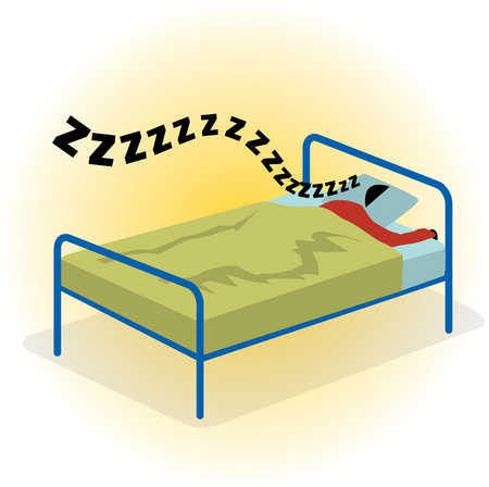 Pictures Of People Sleeping In Bed - ClipArt Best
