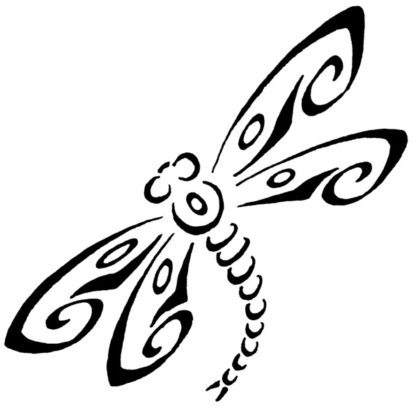 Dragonfly Drawings Clipart Best