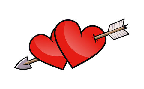 Heart And Arrow Clipart Best