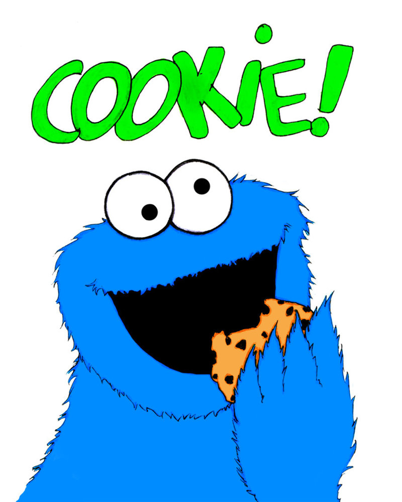 Cute Baby Monsters Clipart Cookie monster clip art