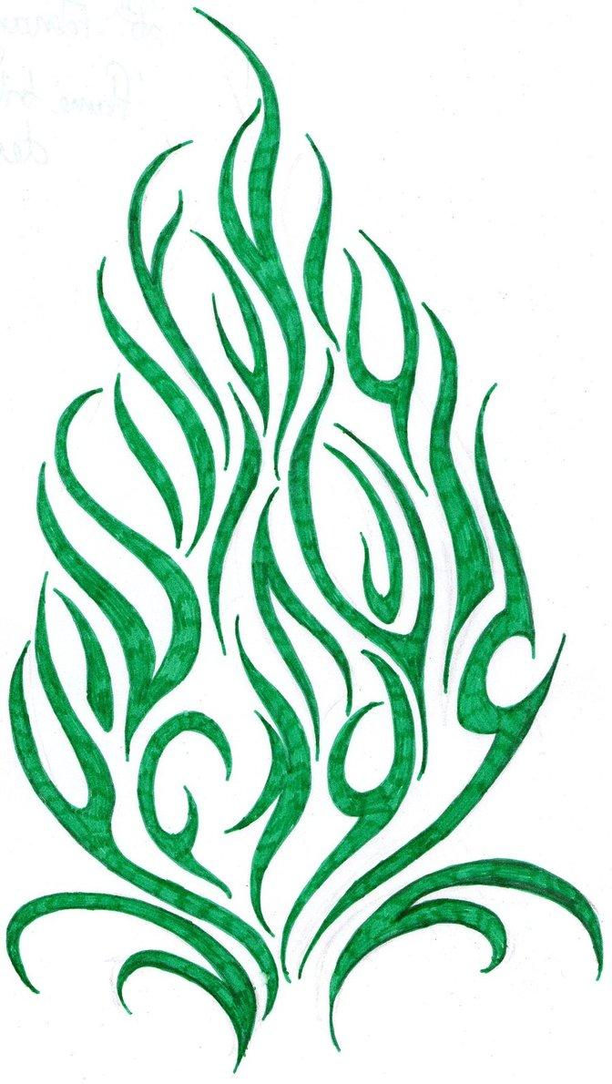 flames tattoo designs clipart best