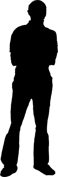Man Silhouette clip art - vector clip art online, royalty free ...: www.clipartbest.com/people-silhouette