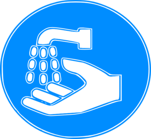 Hand Wash Sign clip art - vector clip art online, royalty free ...