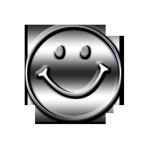 Happy face symbol animation
