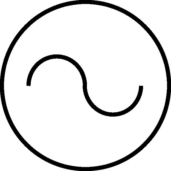 Voltmeter Clip Art : Symbol for voltmeter clipart best