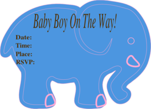 Elephant Baby Shower Invite is great invitations ideas
