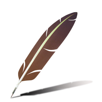 Feather Quill Pen - Cl...