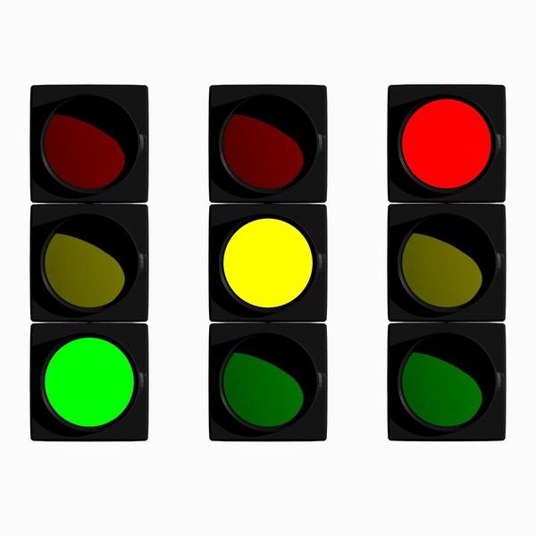 Traffic Icon Traffic Light 3d Blend Icon