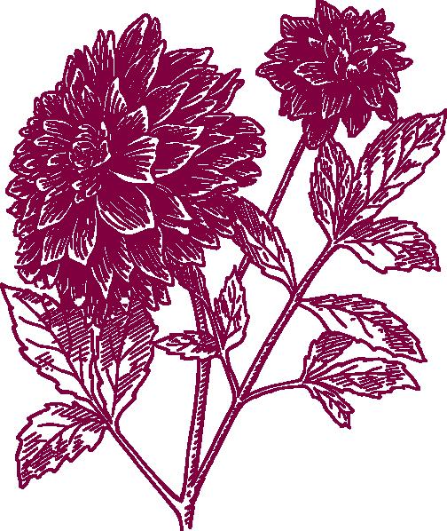 Flower clip art - vector clip art online, royalty free & public domain