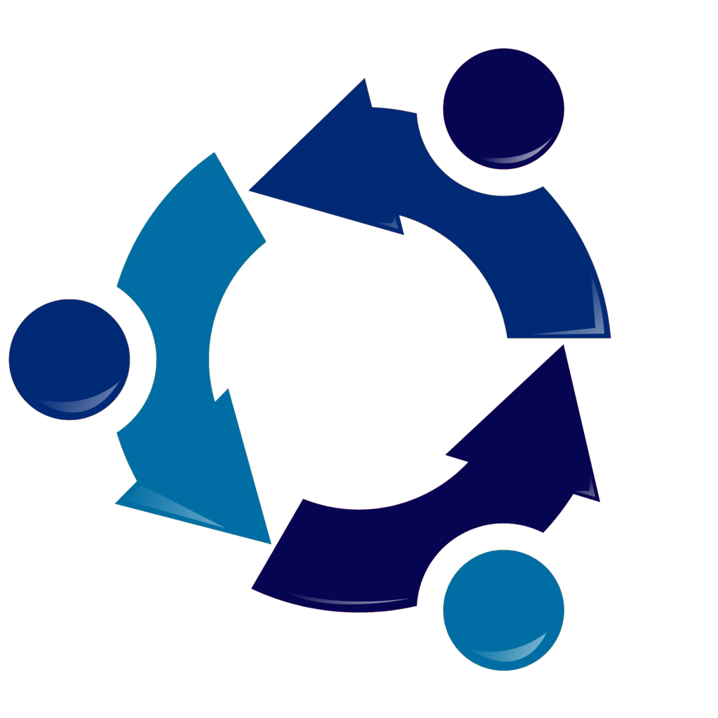 Ubuntu Recycling logo-Blue.png - ClipArt Best - ClipArt Best