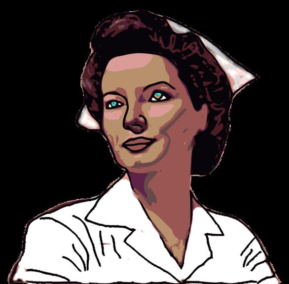 Public Domain Clip Art Image | Illustration of a nurse | ID ...
