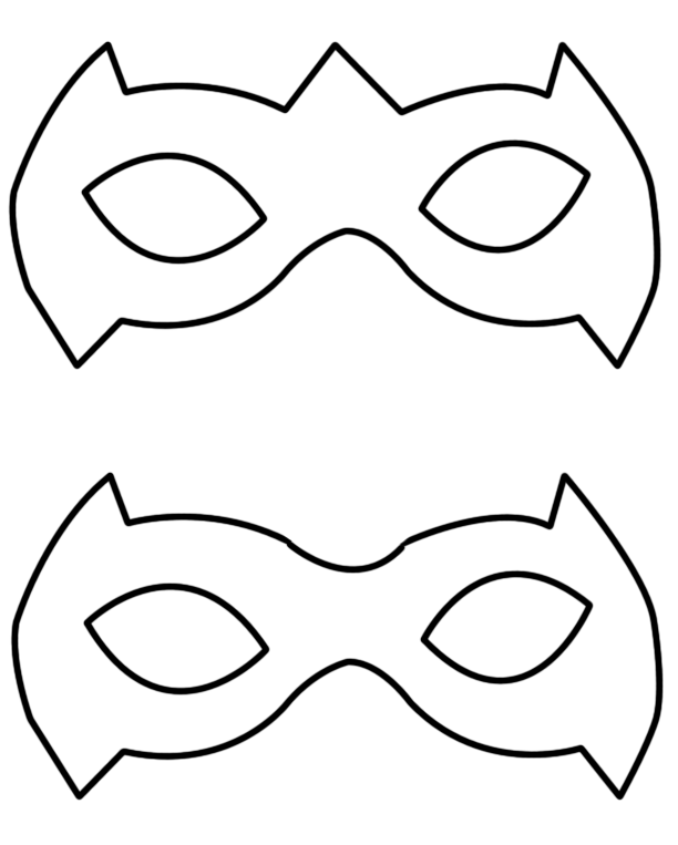 Tutorial: A Simple Way To Make A Robin Superhero Mask | geekev ...