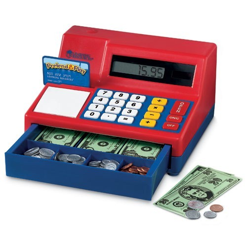 Toy Cash Register Teaching Toy - Educational Toys Planet - ClipArt ...