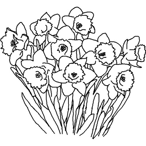 spring free clip art black and white clipart best