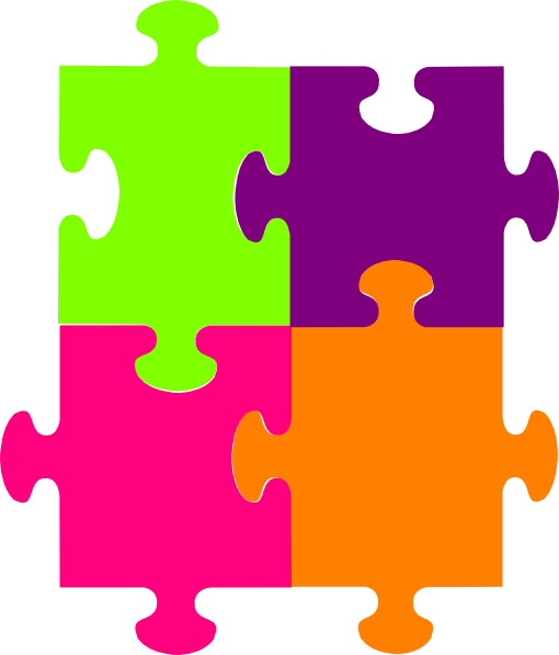 Puzzle Piece Outline Coloring Pages Pictures
