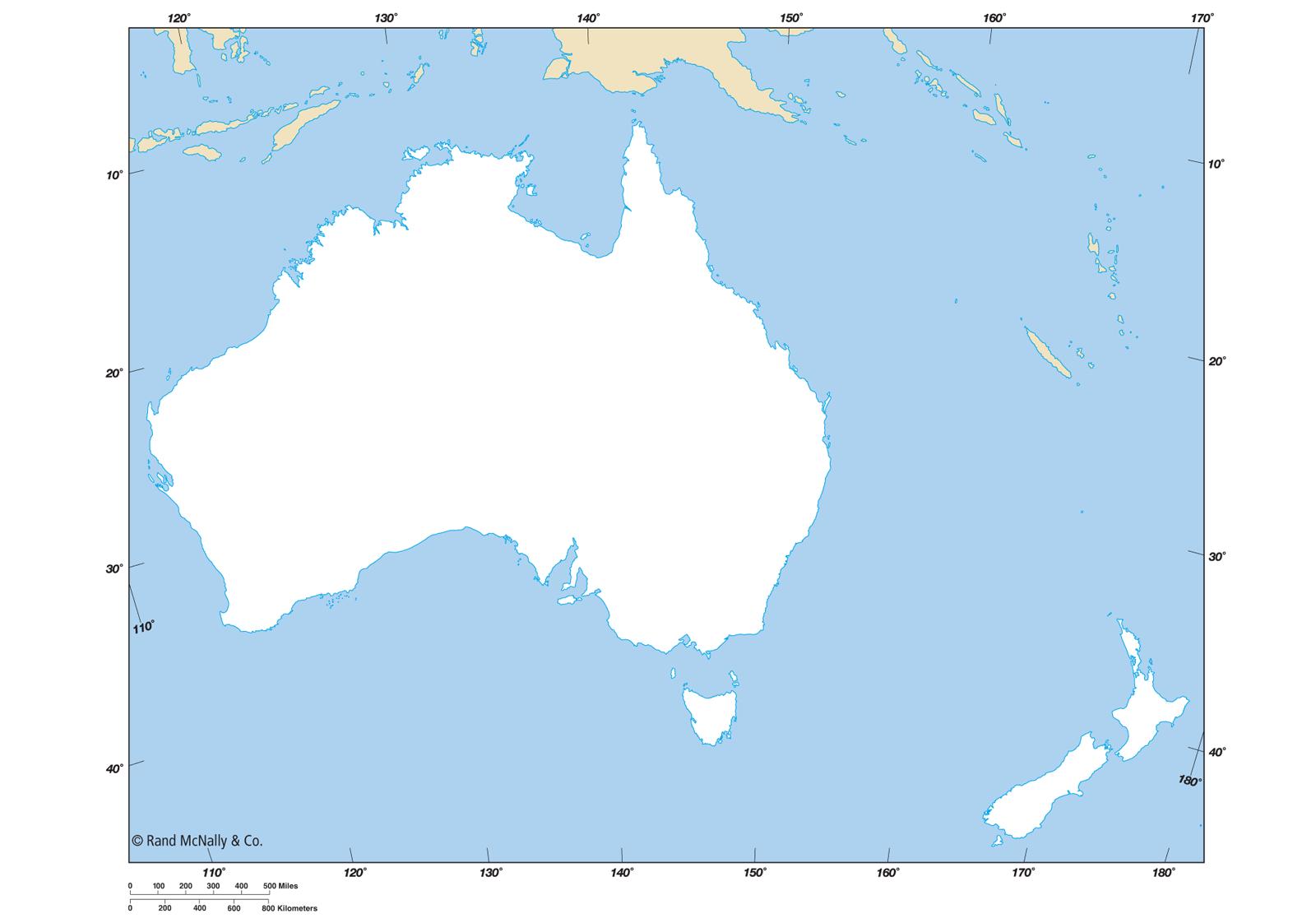 Australia Political Map Outline ClipArt Best – Australia Map Blank