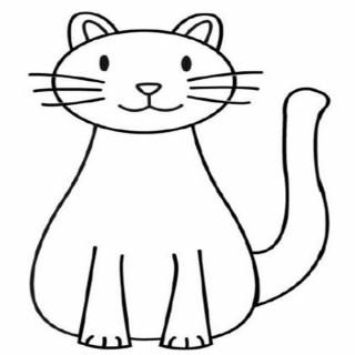 Simple Cat Drawings