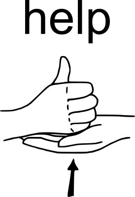 american sign language clip art clipart best