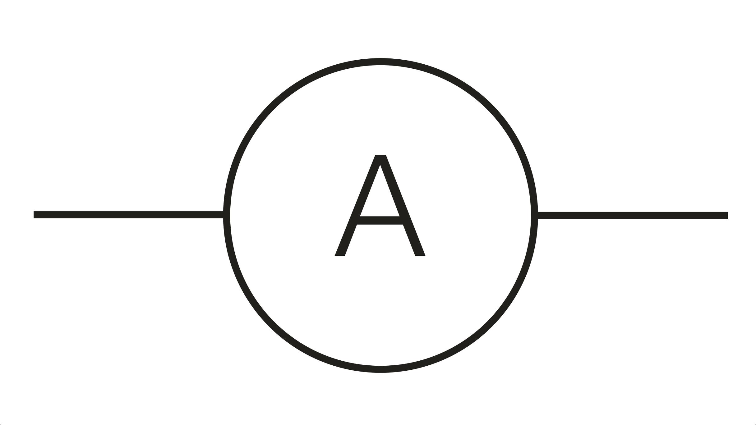 Ammeter Clip Art : Ammeter symbol clipart best