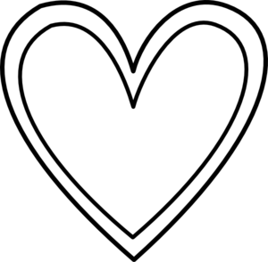 Double Heart Clipart Black And White - ClipArt Best - ClipArt Best