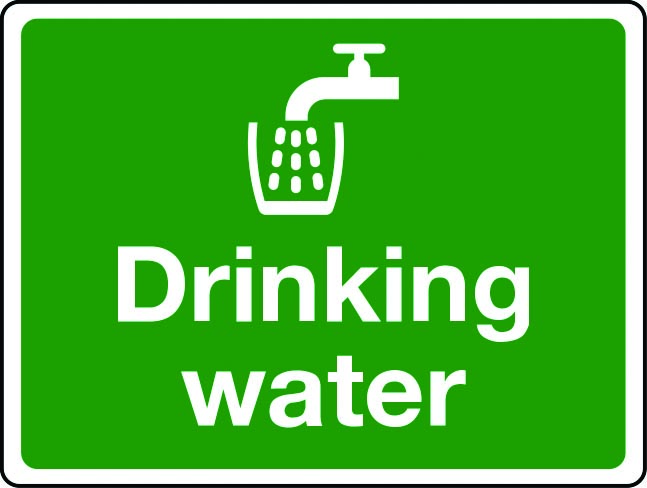 Drinking Water Signs Printable - ClipArt Best