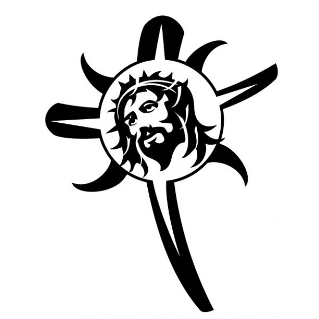 Free Vector Clipart Jesus On The Cross - ClipArt Best
