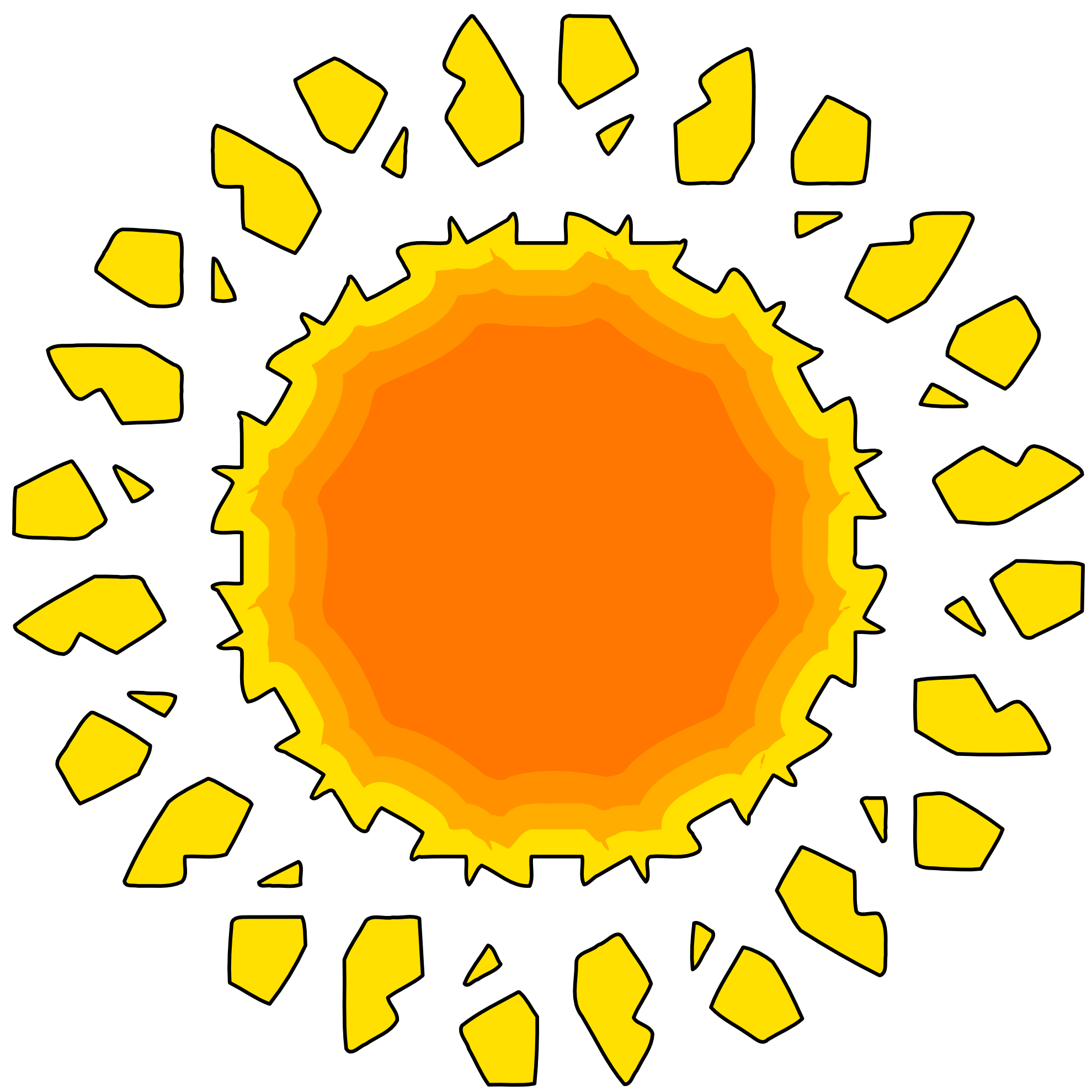 Clip Art The Sun Clipart the sun clipart best images for free download clip art on
