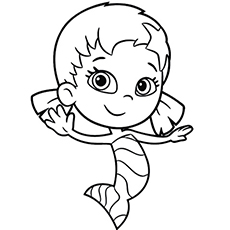 Merman Coloring Pages ClipArt Best