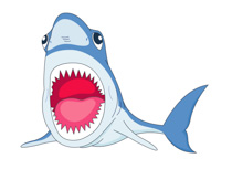 Free Shark Clipart - Clip Art Pictures - Graphics - Illustrations
