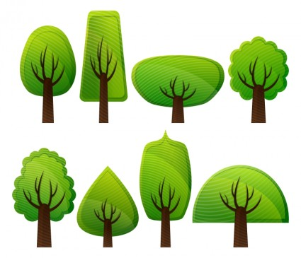 Vector clipart plant trees Free vector for free download (about 4 ...