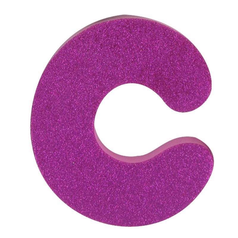 Hobbycraft Glitter Foam Letter C Pink | Hobbycraft ...