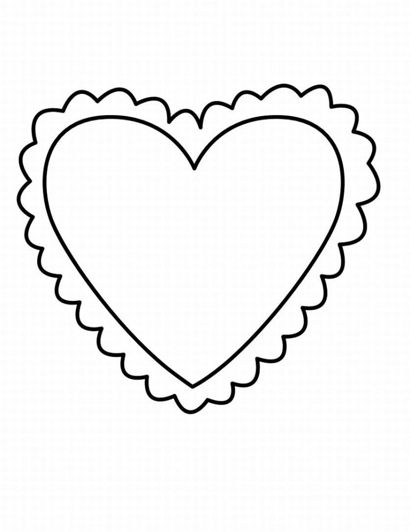 Heart Shapes Templates Heart shaped templates