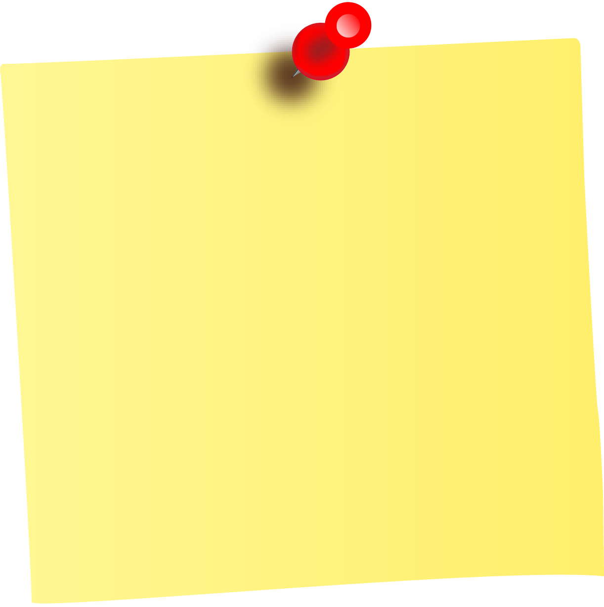 Sticky Note Png Clipart Best