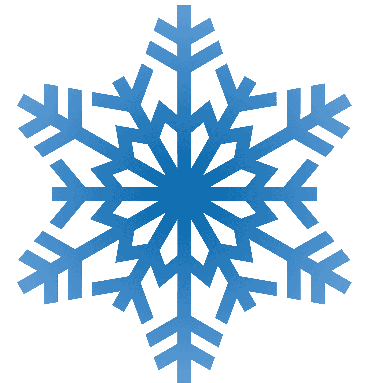 Blue Snowflakes Clipart - ClipArt Best