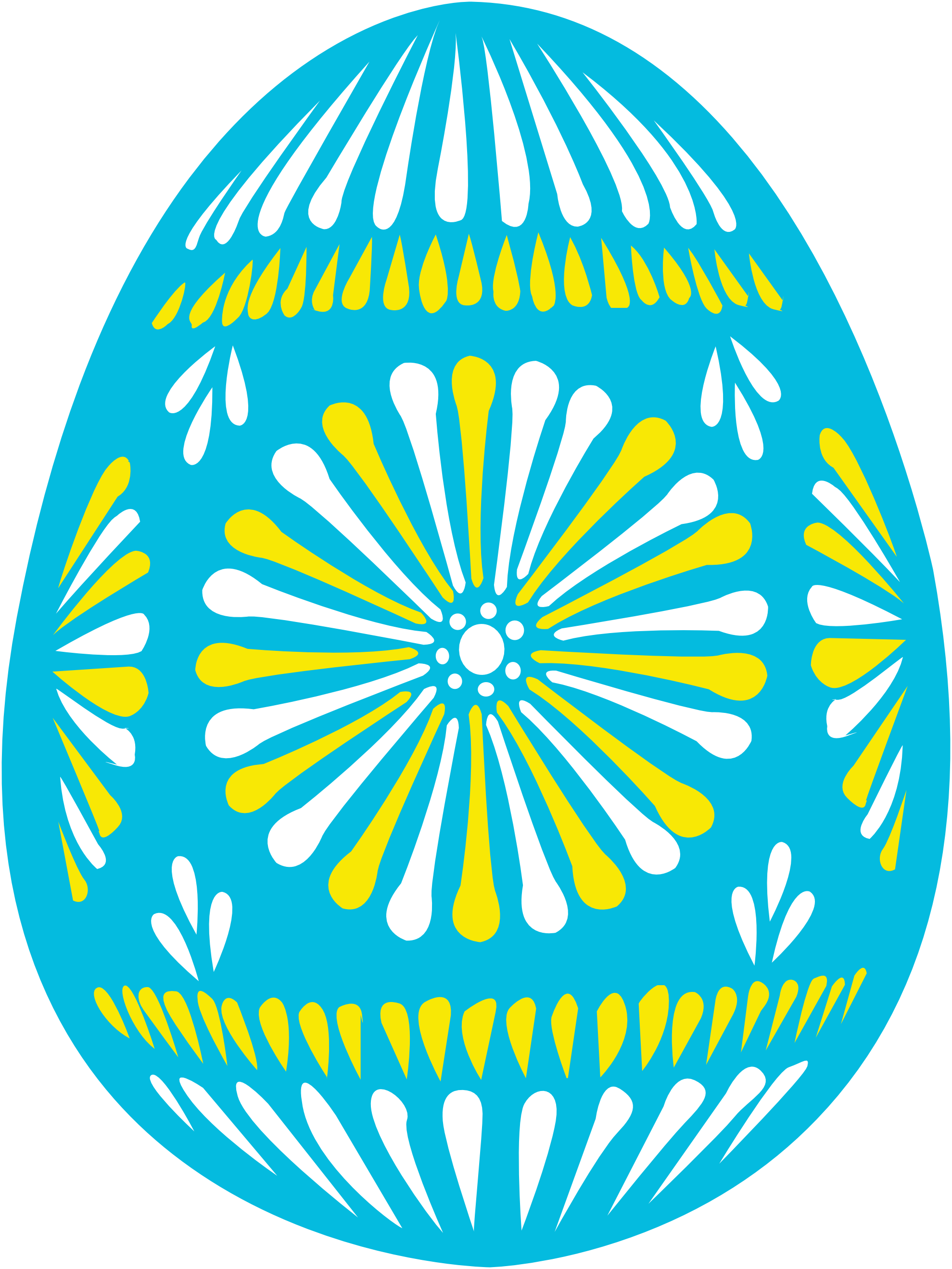 Clip Art: easter egg blue Easter scallywag March ... - ClipArt Best ...