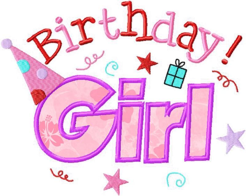 Happy Birthday Girl - ClipArt Best
