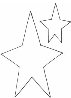 Critical image regarding stars stencil printable