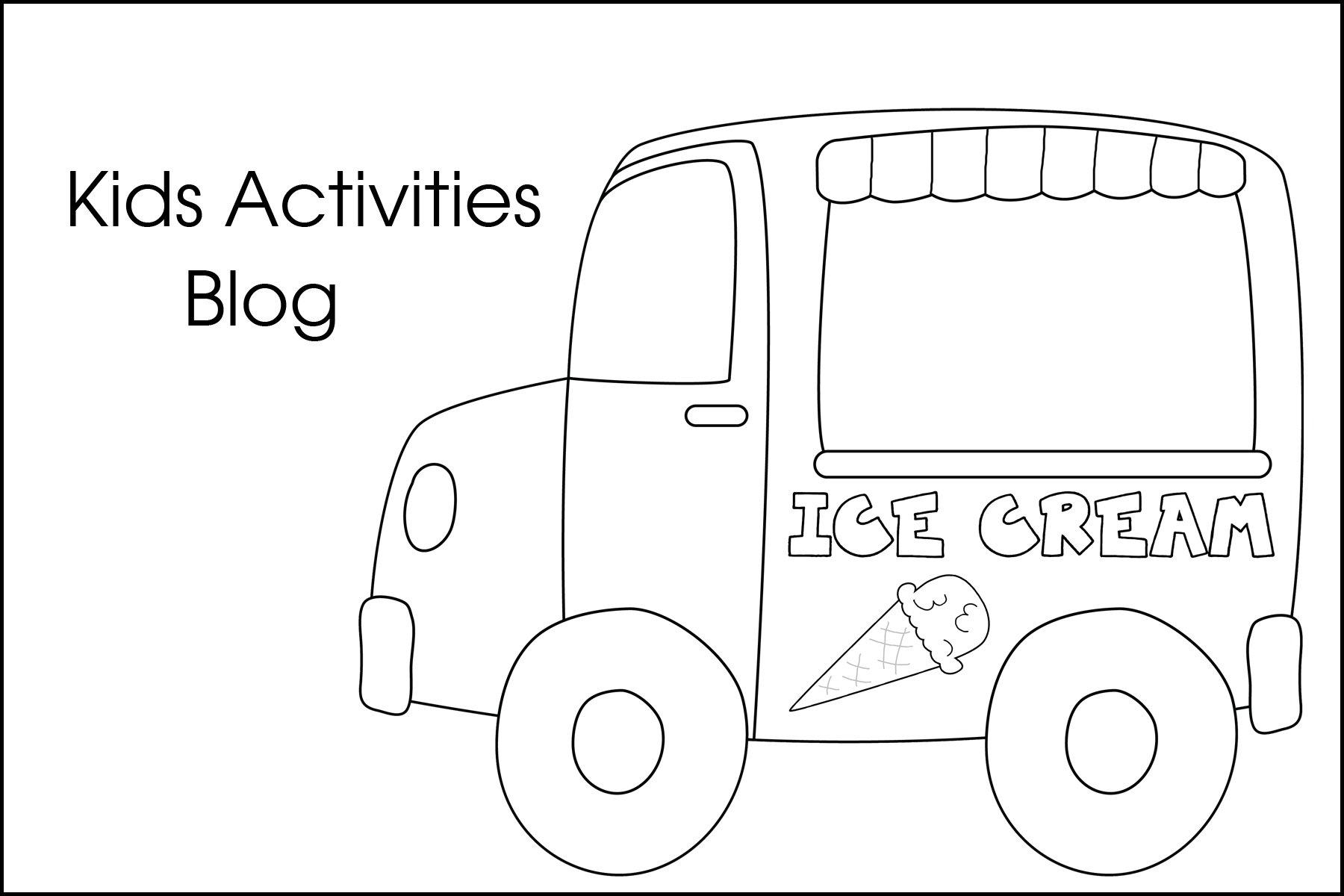 Ice Cream Truck Clip Art ClipArt
