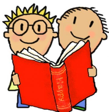 Clipart On Reading