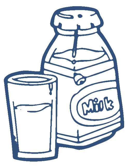 clipart of a glass of milk - photo #40