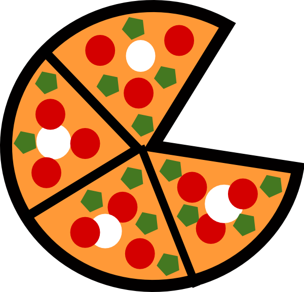 Pepperoni Pizza Clip Art - Free Clipart Images