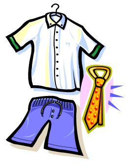 school uniform clipart clipart best someone getting dressed clipart getting dressed clip art for kids free