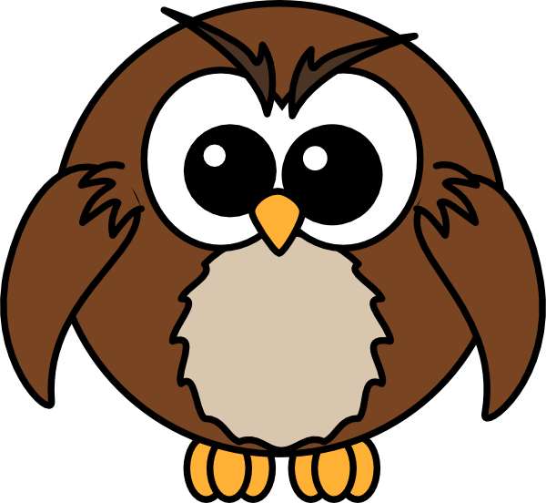 Cartoon Owl Clip Art - Vector Clip Art Online, Royalty ...