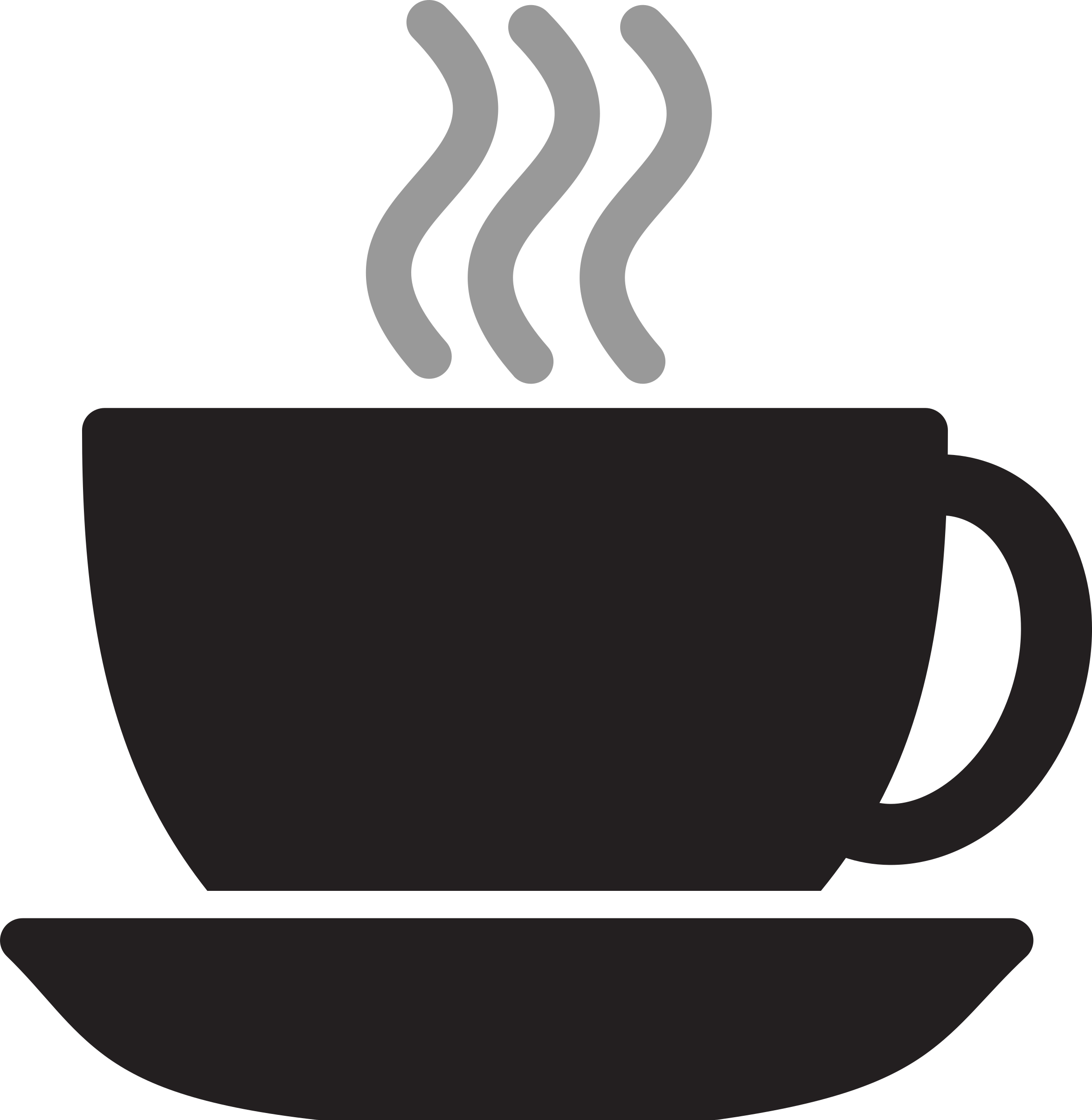 Clipart - Kitchen Icon - Coffee Cup