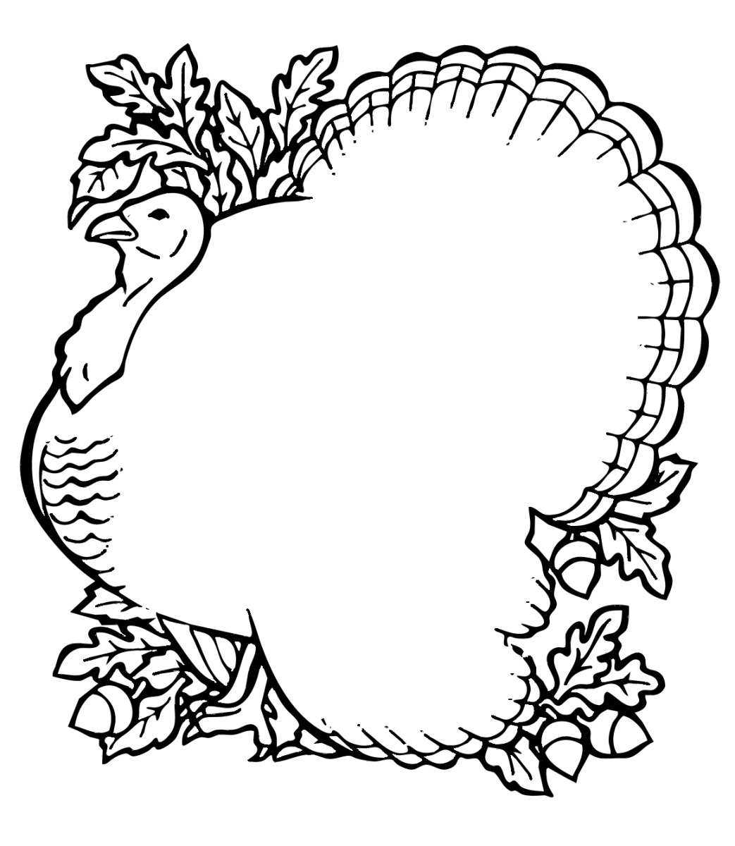 Thanksgiving Coloring Pages for Kids | Coloring Pages To Print