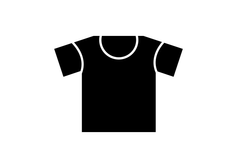 black t shirt vector - photo #21