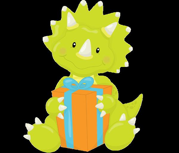 Dinosaur Birthday Clip Art - ClipArt Best